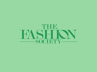 the fashion society the fashion society logo brand typography logo branding the fashion society