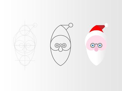 Santa Claus Icon pixel perfect christamss santa claus