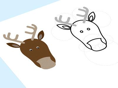 Christmas Reindeer reindeer pixel perfect christmass