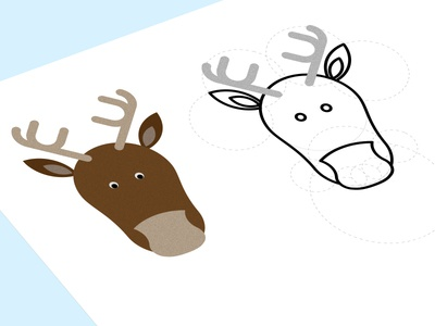 Christmas Reindeer reindeer pixel perfect christmass