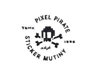 Pixel Pirate Logo 2