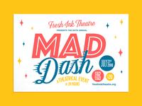 Mad Dash Postcard Front