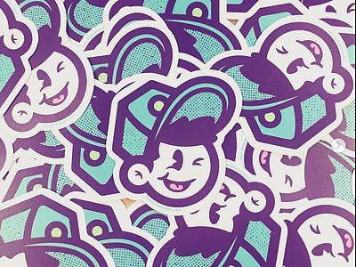 LH Stickers avatar promotional promo stickermule diecut logo stickers