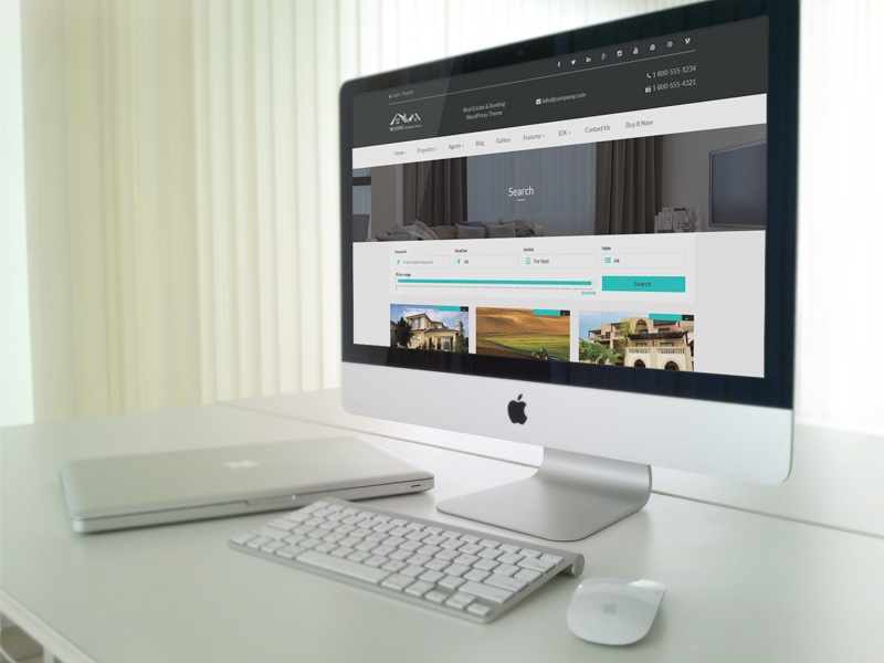 Real Estate with MLS IDX Listing WordPress Theme by imperial-themes ...