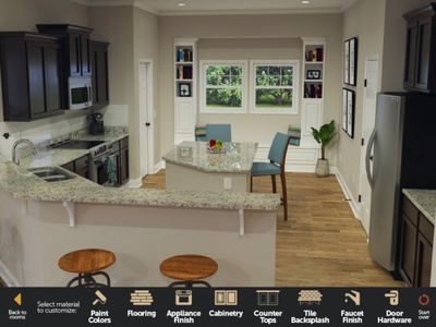 Interactive 3D Kitchen app