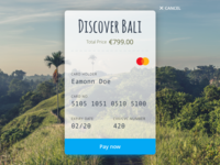 Holiday Package Credit Card Checkout