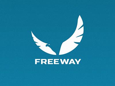 Freeway Logo freeway eagle bird logo