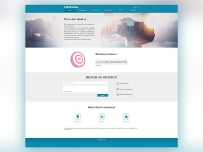 Freeway freeway web site design ux ui site design