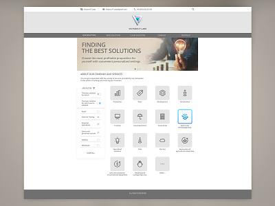 Victoria It Labs Site web ux ui design site