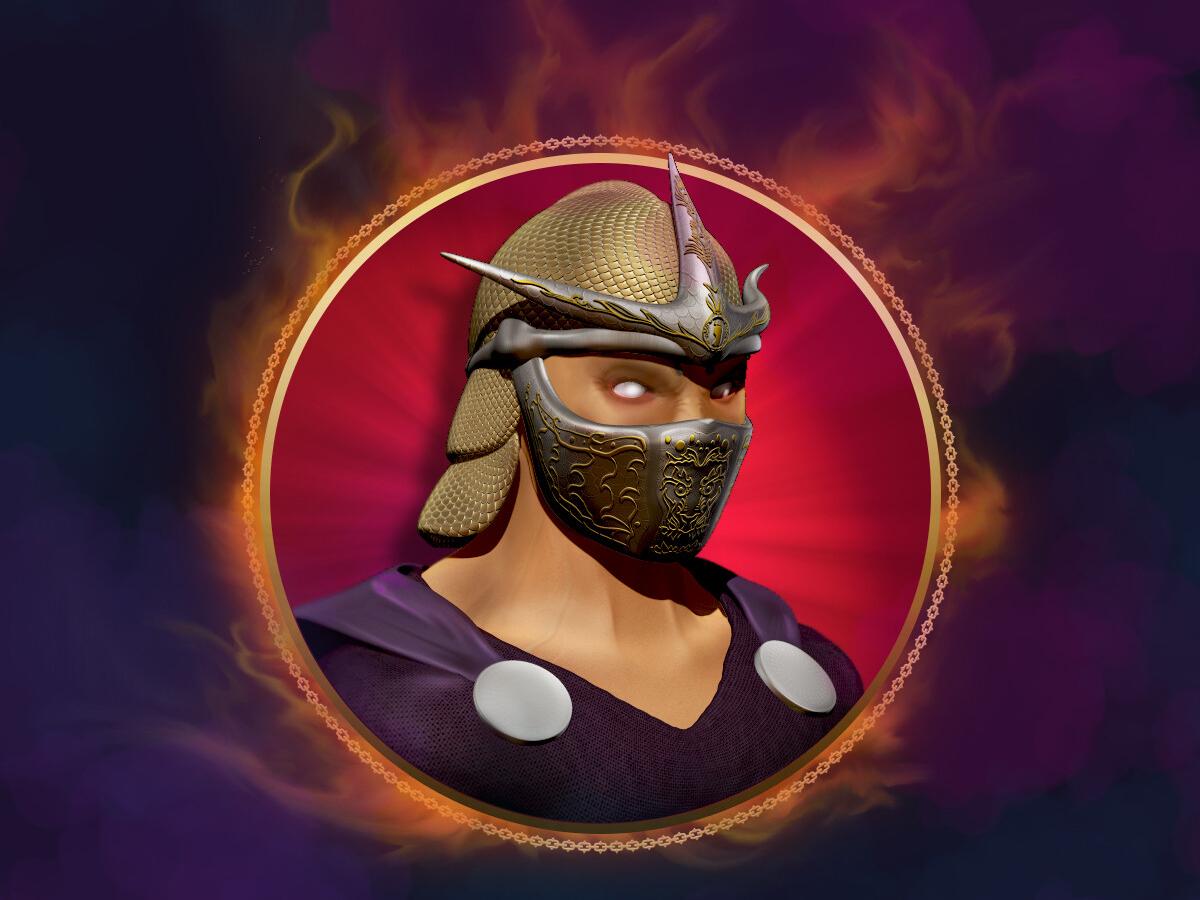 Shredder fanart icon shredder