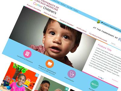 Comerchildrenshospital color hospital children website