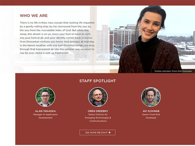 UChicago ITS Homepage Redesign pt2