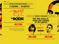 Bodhi vs. Bodie