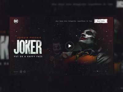 Joker Web Interface (Daily UI-01)