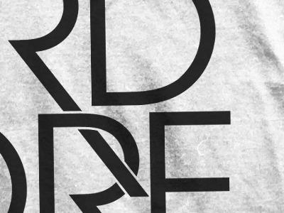 """POSITIVE HARDCORE"" shirt design shirt typography graphic design avant garde black"
