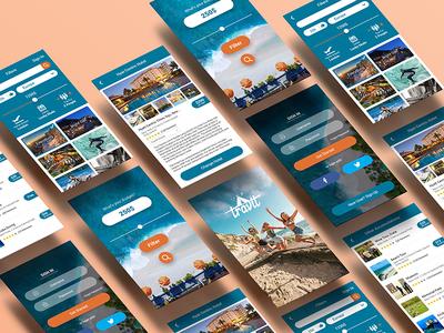 Travit App -  Vacation Planning Application