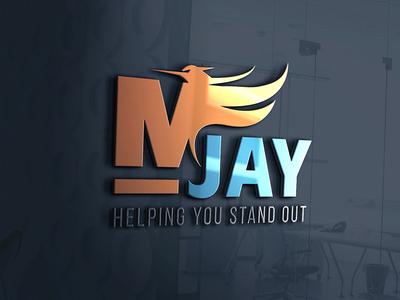 M jay India   Marketing firm logo