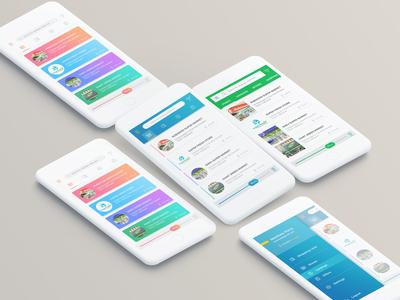 Shopping App concept Design