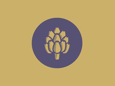 Artichoke Music Badge branding and identity branding concept branding design design logo brand brand design gold artichoke badge design badge badge logo