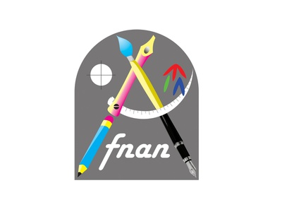 Afnan design لوجو branding brand logo vector