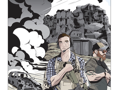 COMMISSION FOR YOUTUBER military comic art coloring commission inking illustration comics