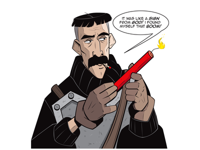 "SIX FANS ART DAY 1 - ""VINNIE"" coloring inking comics illustration character design character atlantisthelostempire atlantis disney vinnie sixfansart"