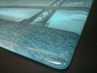 Bay Bridge Glass Panel