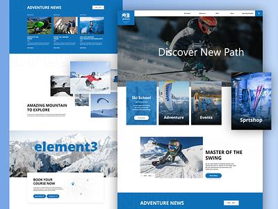 Sports Booking Website sports website sports booking website website design webdesign