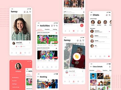 Social App uxdesign parenting socialapp appdesign