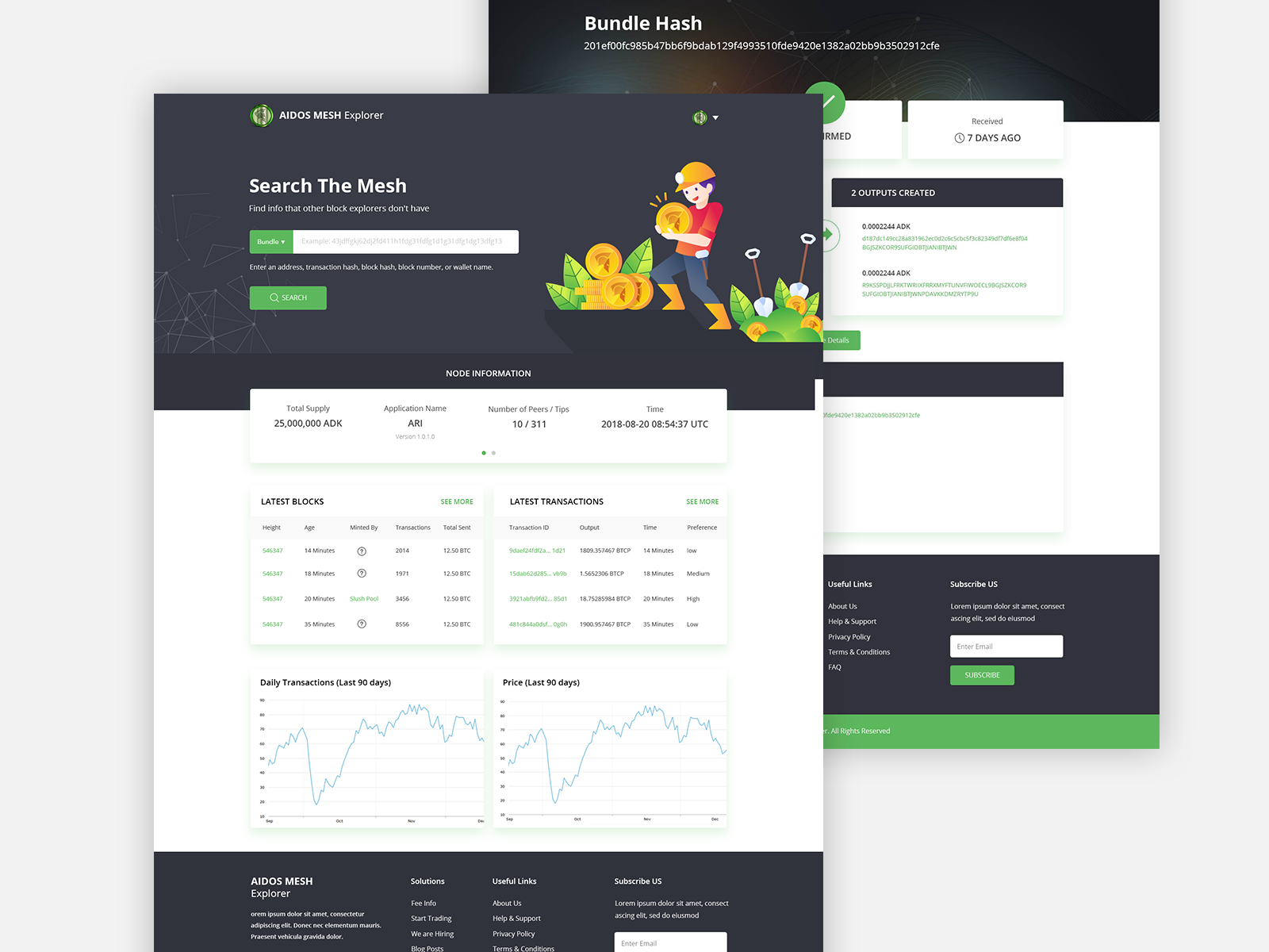 Cryptocurrency Explorer by Zignuts Technolab | Dribbble