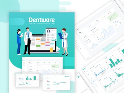 Dental Software Solution zignuts design ux ui appointments patients dashboard ui dental management software dental clinic