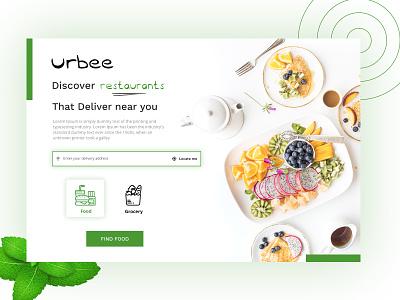 Restaurants & Grocery  Web design delivery order webdesign grocery location food design ux ui zignuts