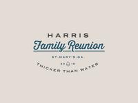 Harris Reunion Logo