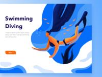 Swimming Diving