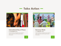 United Religions Initiative Take Action
