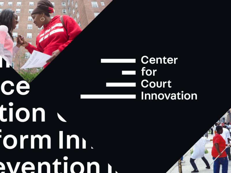 The Center for Court Innovation Design Exploration contrast design style tile design exploration triangle typography website aten atendesigngroup logo process