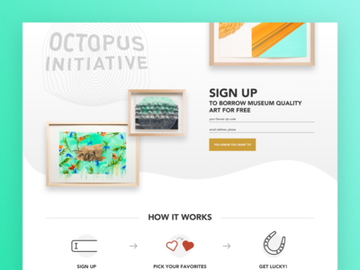 MCA Octopus Initiative Landing Page