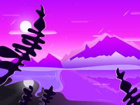 Daily landscape illustration