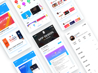 Ui chinese app design collection