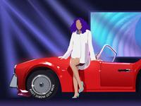 Goddess car model