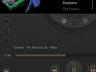 As everyone else did....my first one here ui iphone player music