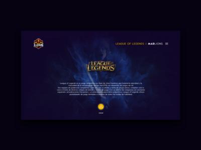 MAD Lions E.C. eSports   League Of Legends