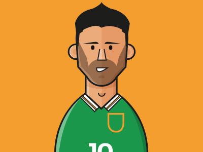 Euro 2016 - #FollowFootball Project - Republic of Ireland keane robbie ireland uefa france teams fixtures euro2016 soccer football