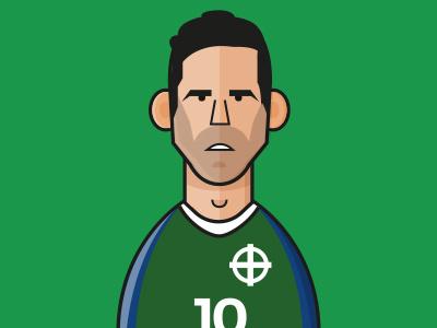 Euro 2016 - #FollowFootball Project - Northern Ireland kyle lafferty northern ireland uefa france teams fixtures euro2016 soccer football