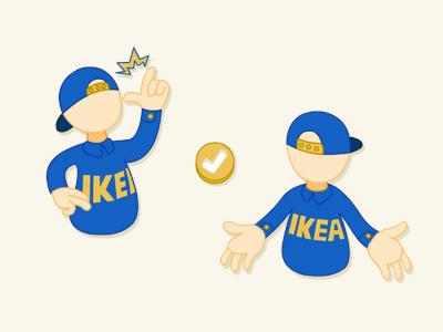 IKEA Helper Design icon ikea staff helper