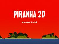 Piranha 2D - Title Screen