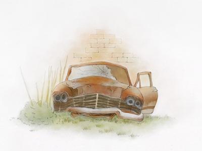 Pablo & Artists - Game Scene illustration painter game scene