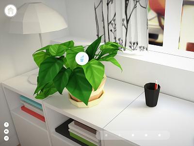 Plant for home office plants webgl blender feng shui