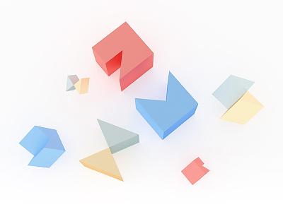 Geometric Gems branding gems geometry