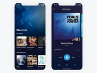 UI Challenge #009 Music Player
